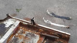 Реставрация (кузовной ремонт) ВАЗ 2106 в гараже, часть вторая – обзор ремонтной части днища