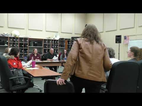 Regular School Board Meeting: February 2018