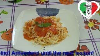 lezioni di cucina italiana 5 sugo al pomodoro