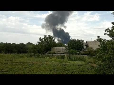Malaysia Air MH17 Crash: Video From the Wreckage
