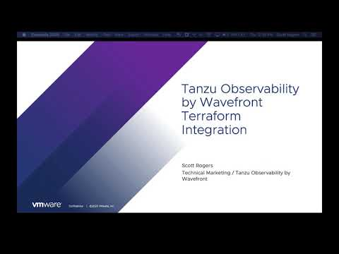 Tanzu Observability by Wavefront Terraform Integration