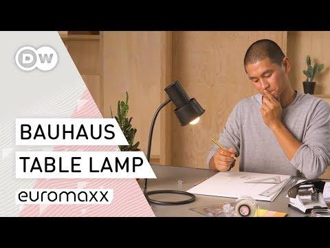 How To Bauhaus – How to Build a Table Lamp | Bauhaus Design Idea | DIY Project