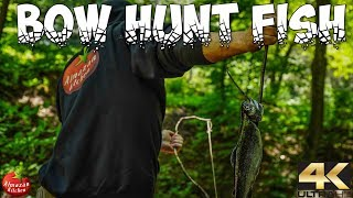 PRIMITIVE PIT-SMOKED FISH HUNT WITH A BOW!