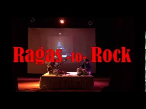 """Sitar unique concert """"Ragas to Rock"""" by Sanjay Deshpande"""
