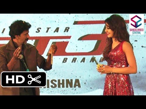 'Mr. Airavata' Audio & Trailer Launch: Actress Urvashi Rautela Performs Magic