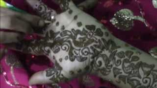 arabic mehndi (henna) - step by step tutorial design 2
