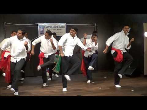 Tamil Christmas Folk Dance 2017 - Thena Inikka