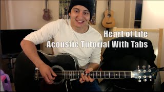 John Mayer - Heart of Life (Guitar Lesson/Tutorial with Tabs)