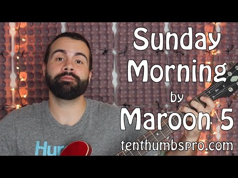 Sunday Morning - Maroon 5 - Easy Guitar Tutorial