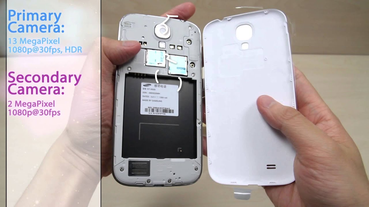 Hedendaags Samsung Galaxy S4 GT-I9505 Unboxing, specs and hardware review BE-98