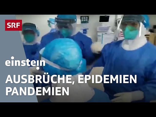 Corona-Virus, Sars, Ebola – Viren als unsichtbare Feinde der ganzen Welt | SRF Einstein