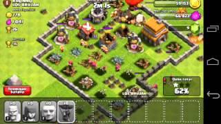 Martes juego ramdom clash of clans atacar a lo pro