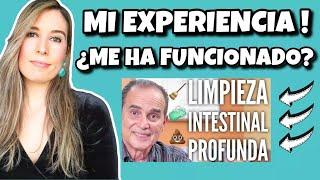 MI EXPERIENCIA con la LIMPIEZA INTESTINAL PROFUNDA de FRANK SUÁREZ (Metabolismo TV) I Mi resultado!