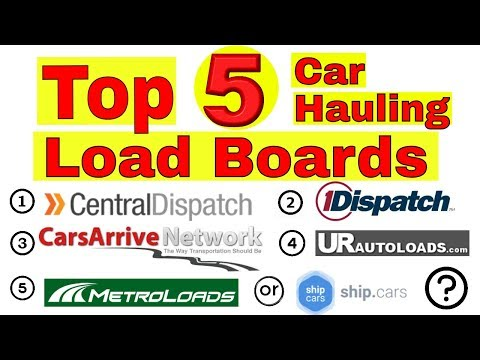Top 5 Car Hauling Load Boards: Central Dispatch Ready Cars