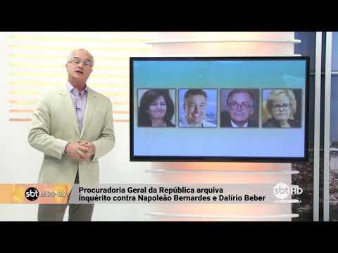 PGR arquiva inquérito contra Napoleão Bernardes e Dalírio Beber