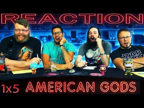"American Gods 1x5 REACTION!! ""Lemon Scented You"""