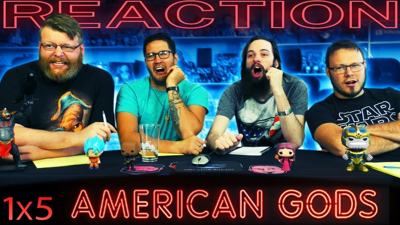 """Download American Gods 1x5 REACTION!! """"Lemon Scented You"""""""