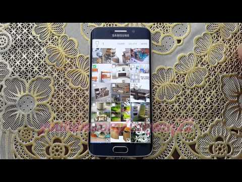 How to send Pictures via WiFi (Wireless Internet) Direct on Samsung Galaxy S6 or S6 Edge
