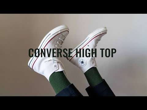 How To Style Converse Chuck Taylor Hi Top Sneakers