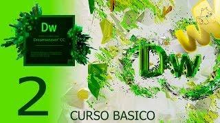 Dreamweaver CC, Tutorial pantalla de inicio y vistas,  Curso Básico Español, Capitulo 2