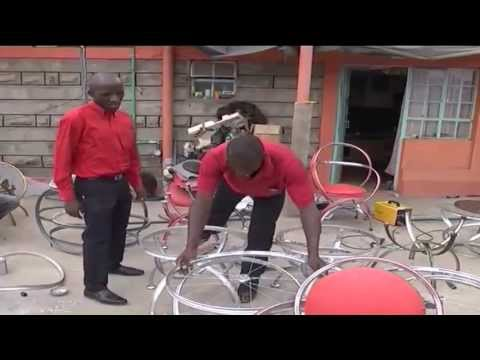 Entrepreneur Recycled Used Bicycle Parts Youtube