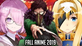 Memory's Fall Anime 2019 Lineup (What I'll Be Watching & Most Anticipated)