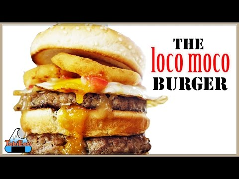 Epic Loco Moco Burger (The Hawaiian Big Mac)-RECIPE
