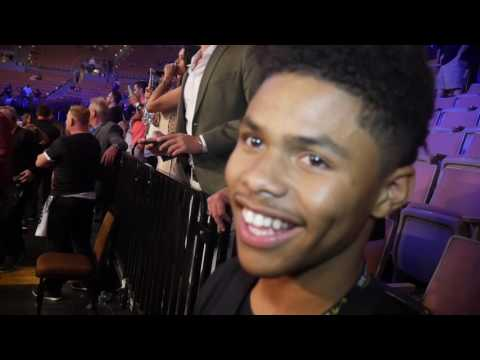 Shakur Stevenson wants to go down as a legend, reacts to Andre Ward KO win