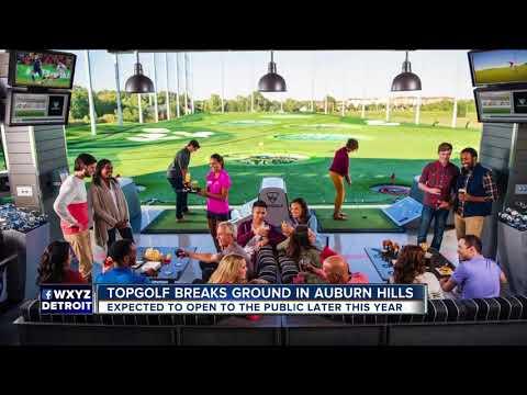 Topgolf breaks ground on first metro Detroit facility in Auburn Hills