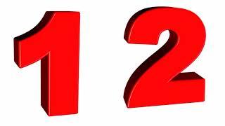 Numbers || 123 || 1234 || preschool video || learn 1234
