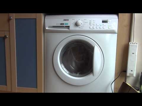 Zanussi Aqua Fall ZWHB7160 : Synthetics Quick : Intermediate spin (4/6)