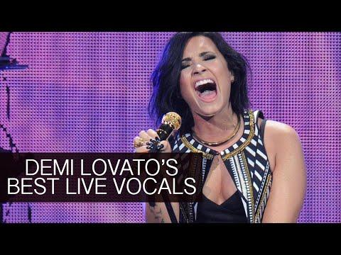 Demi Lovato's Best Live Vocals