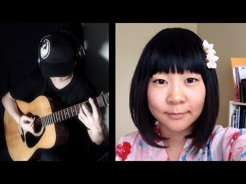 Ikimono Gakari いきものがかり: SAKURA acoustic cover (strawberryyura + Da Vynci )