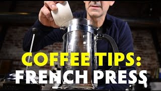 Coffee Tips - French Press