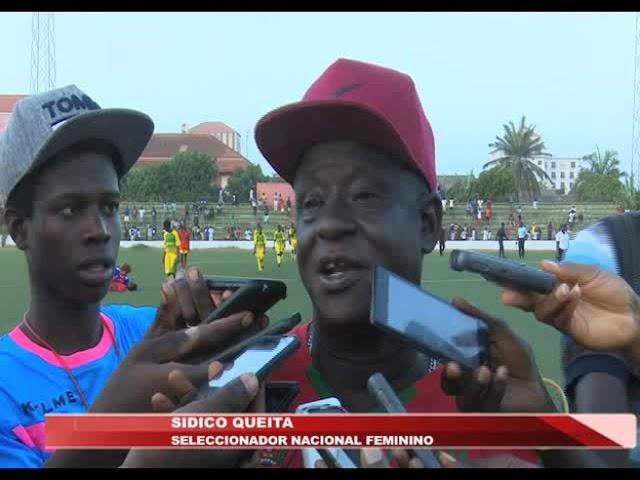Resumo do jogo Guine Bissau 2-1 Cabo Verde no futebol feminino