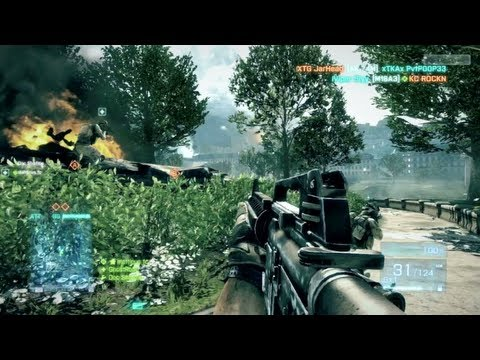 Battlefield 3 Online Gameplay LIVE Multiplayer! - Real BF3 Gameplay w/ Commentary! (XBOX 360/PS3 ...