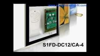 Commande moteur sans fil 9v 12v 24v fonction temporisation S1FD-DC12 & CA-4