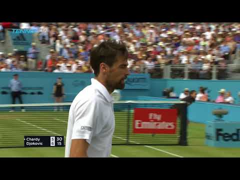 Djokovic defeats Chardy; Cilic Stops Kyrgios  Queens 2018 SemiFinal Highlights
