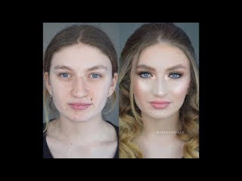 Amazing Makeup Transformations Before and After#04