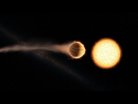 NASA finds exoplanet with stratosphere