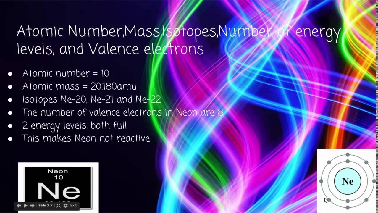 Element 10: Neon - YouTube