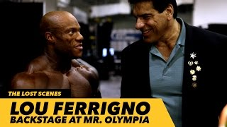Lou Ferrigno Backstage With Phil And Kai At Mr. Olympia | Generation Iron