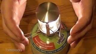 видео Туристические и походные газовые обогреватели