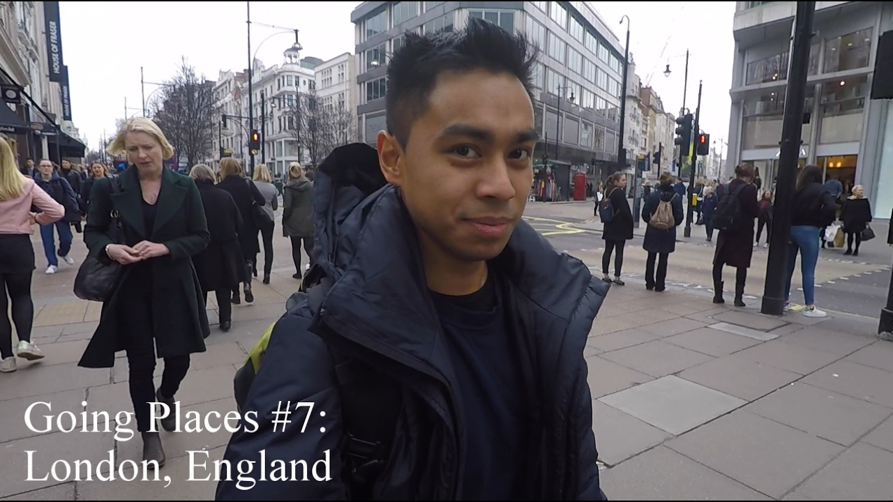 Going places #7: London, England