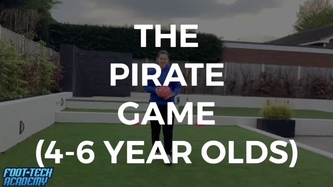 The Pirate Game for 4-6 Year Olds