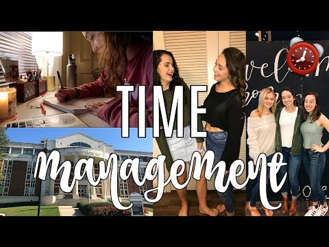 Time Management In Col How To Get Your Life Together