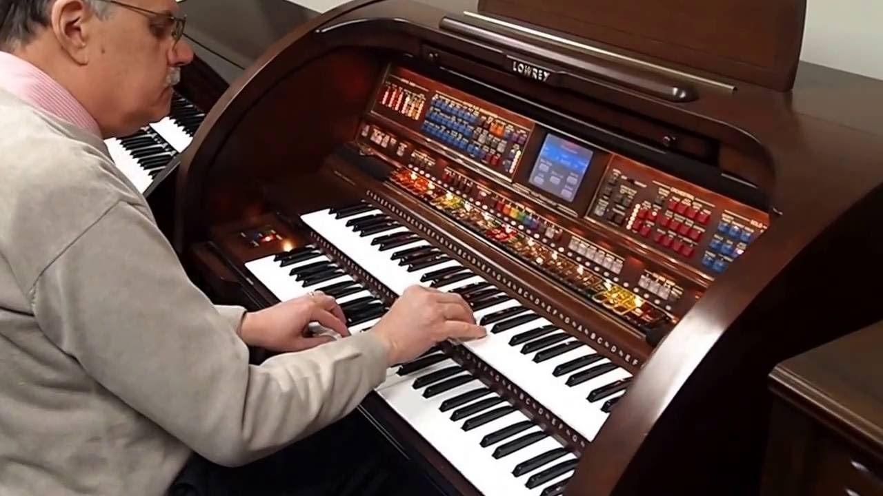 Organ For Sale >> Lowery Organ for Sale | Graves Piano & Organ | Michael Spain - Vid 2 - YouTube