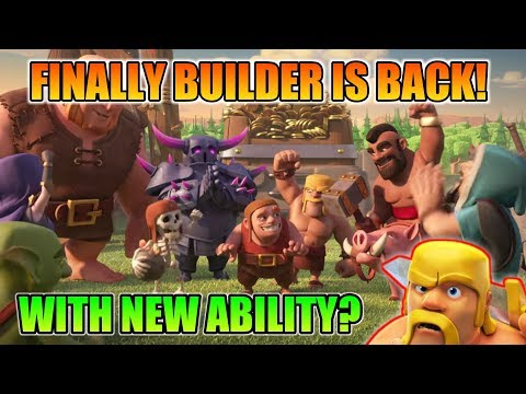 WOW 😘 BUILDER BACKE IN OUR VILLAGE! | WITH NEW ABILITY? | NEW BUILDER HUT LEVEL2?