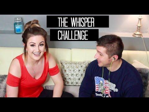 THE WHISPER CHALLENGE ft. My BF | Meg Cat