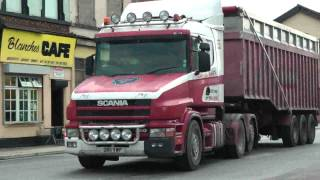 TRUCKS LIVERPOOL DOCKS JULY 12